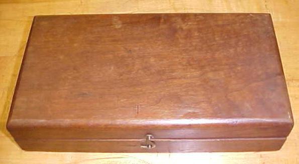 James Swan Brace Auger Bit Box w/Label