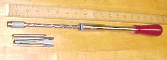 North Brothers Yankee Screwdriver Ratchet No. 130A