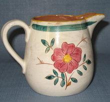 Stangl Garden Flower one pint pitcher