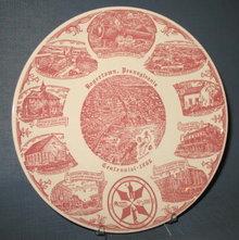 Boyertown, Pennsylvania Centennial plate