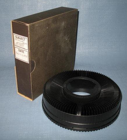 GAF Rototray slide tray