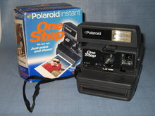 Polaroid Instant One Step Camera