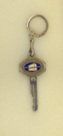 Quakertown (PA) Savings and Loan Association 75th year anniversary keychain