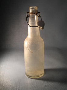 Jacob Hornung Brewing Co., Philadelphia  PA embossed beverage bottle