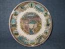 Hoover Dam souvenir plate