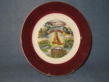 New York state souvenir plate
