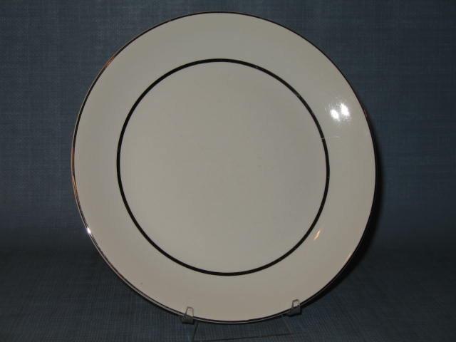 Salem China Silver Elegance dinner plate