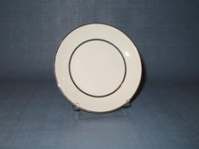 Salem China Silver Elegance bread and butter plate