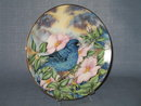 Royal Windsor Southern Living Gallery Songbirds of the South Indigo Bunting collector's plate