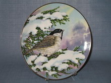 Royal Windsor Southern Living Gallery Songbirds of the South Carolina Chick collector's plate