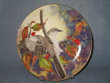 Royal Windsor Southern Living Gallery Songbirds of the South Mockingbird collector's plate
