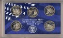 2002 S United States State Quarters Proof Set