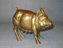 Brass pig (sow or mama pig) figurine