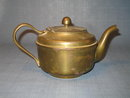 United States Navy officer's mess brass teapot