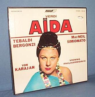 Verdi's Aida, 33 RPM