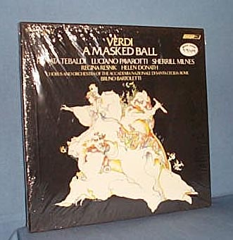 Verdi: A Masked Ball  33 RPM Boxed set
