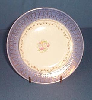 Royal Pottery Royal Bluetonia plate