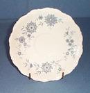 Christiana Porcelain Bavarian Blue saucer