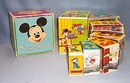 Walt Disney Productions Mickey Mouse nesting blocks