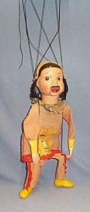 Howdy Doody Princess SummerFallWinterSpring Marionette