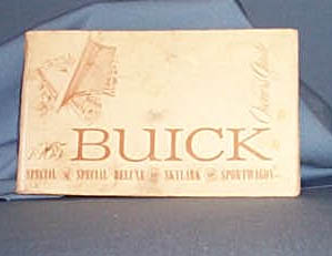 1965 Buick Owners Guide