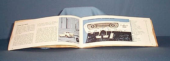 1965 Ford Mustang Registered Owners Plan book