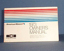 1973 American Motors Owner's Manual