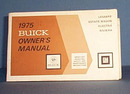 1975 Buick Owner's Manual