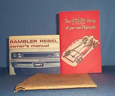 1967 Rambler Rebel Owner's Manual