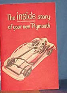 1946 Plymouth Owner's Book