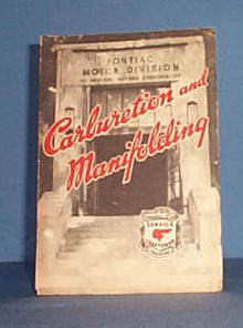 1946 Pontiac Carburetion and Manifolding Service Craftsman Training Book