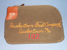 Quakertown Trust Company, Quakertown, PA night deposit bag