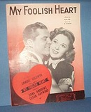 My Foolish Heart Sheet Music by Young & Washington