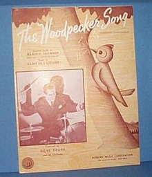The Woodpecker Song Sheet Music by Adamson & Lazzaro