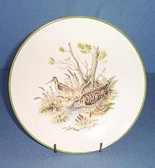 Bareuther Waldsassen Bavarian plovers plate