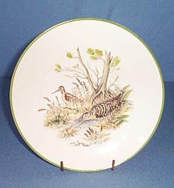 Bareuther Waldsassen Bavarian plovers plate