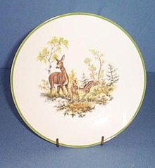 Bareuther Waldsassen Bavarian deer plate