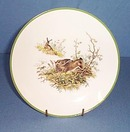 Bareuther Waldsassen Bavarian rabbit plate
