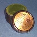 Reed and Barton Damascene 450 silver plated trinket box