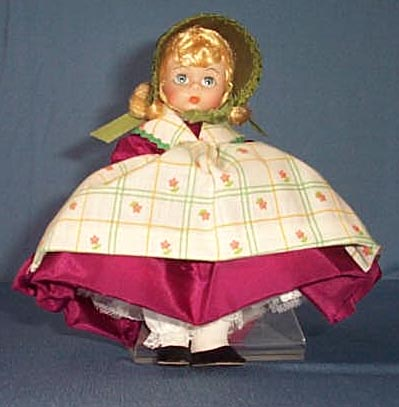 Madame Alexander's Denmark Doll with striped apron