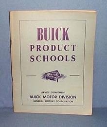 1949 Buick Product Schools Manual