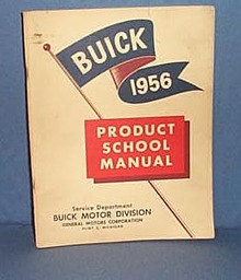 1956 Buick Product School Manual