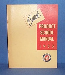 1955 Buick Product School Manual