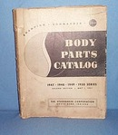 1947- 1950 Studebaker Body Parts Catalog