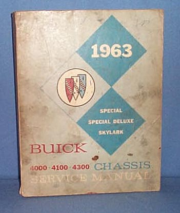 1963 Buick 4000, 4100, 4300 Chassis Service Manual