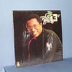 The Groover Ramsey Lewis LP record