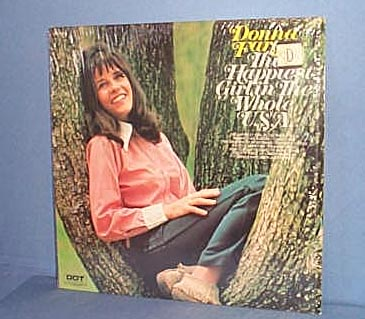 Donna Fargo The Happiest Girl in the Whole U. S. A. LP record