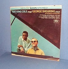 Nat King Cole Sings/ George Shearing Plays LP record