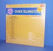 The Stereophonic Sound of Duke Ellington LP record featuring B. B. King