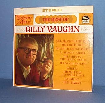 The Best of Billy Vaughn LP record